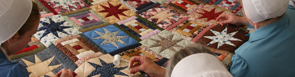 Amish Quilters in Geauga County