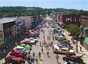 Loudonville, Ohio Car Show