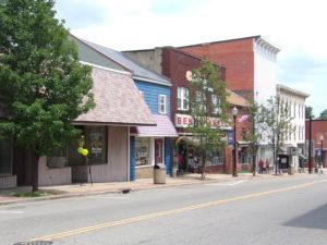 Downtown Carrollton Ohio