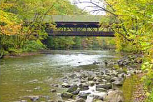 Covered Bridge in Mohican State Park, Loudonville, Ohio