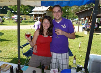 International Wine Festival at Wolf Creek Grist Mill, Loudonville, Ohio